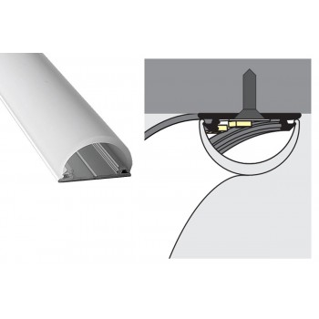 LED profilis Topmet ARC12