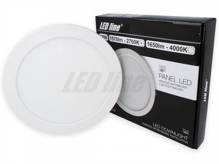 LED panelė LED line EASY fix 12W